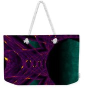 Fire Star - Purple Weekender Tote Bag