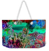 Fire Storm Abstract Weekender Tote Bag