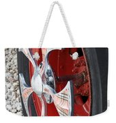 Fire Truck Spinner Weekender Tote Bag