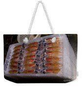 Firefly Squid Processing Weekender Tote Bag