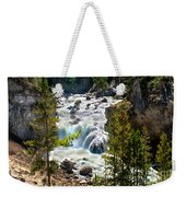 Firehole River Falls Weekender Tote Bag