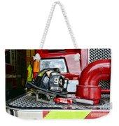 Fireman - Helmet Weekender Tote Bag
