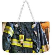 Fireman - Saftey Jacket Weekender Tote Bag