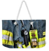 Fireman - The Fireman's Coat Weekender Tote Bag