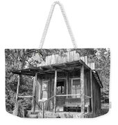 Fireman Cottage B And W Weekender Tote Bag
