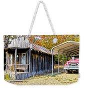 Fireman Cottage Weekender Tote Bag by Douglas Barnard