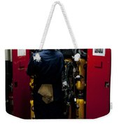 Fireman Stows A Self-contained Weekender Tote Bag
