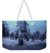 Firemans Monument Infrared Weekender Tote Bag
