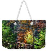Fire's Creek Bridge Weekender Tote Bag