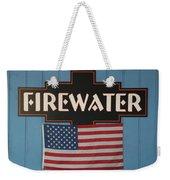 Firewater Weekender Tote Bag