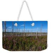 Fireweed  Epilobium Angustifolium Glacier National Park Usa -2 Weekender Tote Bag