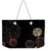 Firework Lifecycle 3 Weekender Tote Bag by Meandering Photography