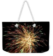 Firework Weekender Tote Bag by Meandering Photography
