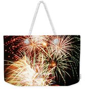 Fireworks 1569 Weekender Tote Bag by Michael Peychich