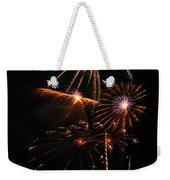 Fireworks 1580 Weekender Tote Bag by Michael Peychich