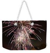 Fireworks 2 Weekender Tote Bag