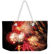 Fireworks Away Weekender Tote Bag