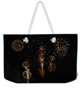 Fireworks Weekender Tote Bag by Bill Cannon