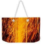 Fireworks Fountain Weekender Tote Bag