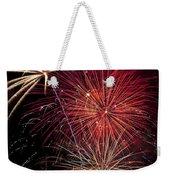 Fireworks Weekender Tote Bag by Garry Gay