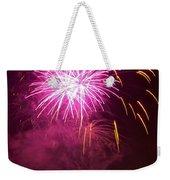 Fireworks IIi Weekender Tote Bag