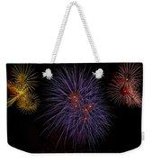 Fireworks Weekender Tote Bag by Joana Kruse