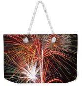 Fireworks Light Up The Night Weekender Tote Bag
