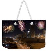 Fireworks Over The City Weekender Tote Bag