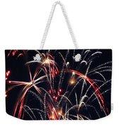 Fireworks Two Weekender Tote Bag