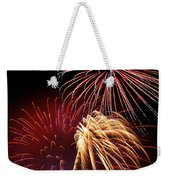 Fireworks Wixom 3 Weekender Tote Bag by Michael Peychich