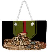 First Infantry Division Bradley Fighting Vehicle Weekender Tote Bag