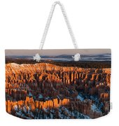 First Light At Bryce Canyon Weekender Tote Bag