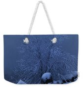 First Light First Snow II Weekender Tote Bag