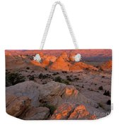 First Light On Little Cut Weekender Tote Bag