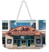 First Niagara Center Weekender Tote Bag