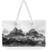 First Opium War, 1841 Weekender Tote Bag