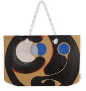 First Remove The Plank From Thine Own Eye Weekender Tote Bag