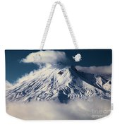 First Snow At Mt St Helens Weekender Tote Bag