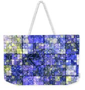 First Time Geometric Lavender  Weekender Tote Bag