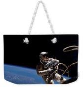 First U.s. Spacewalk Weekender Tote Bag