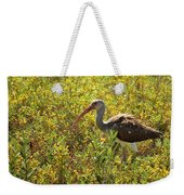 First Year White Ibis Weekender Tote Bag