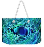 Fish Eye Weekender Tote Bag