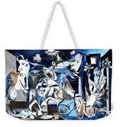 Fish Guernica Weekender Tote Bag