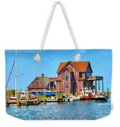 Fish House On The Island Weekender Tote Bag