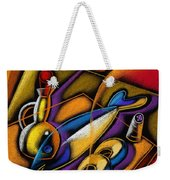 Fish Weekender Tote Bag by Leon Zernitsky