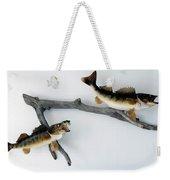 Fish Mount Set 03 A Weekender Tote Bag