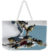 Fish Mount Set 05 B Weekender Tote Bag