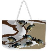 Fish Mount Set 05 C Weekender Tote Bag