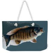 Fish Mount Set 10 B Weekender Tote Bag