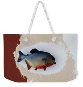 Fish Mount Set 12 C Weekender Tote Bag